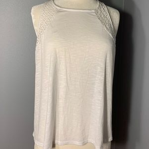 NWOT Maurices White Lace Tank